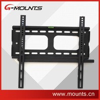 Steel stability slim anti-theft fixed LCD TV wall mount