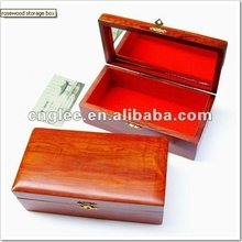 rosewood storage box