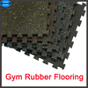 Gym Interlocking rubber tiles Factory price interlocking rubber flooring