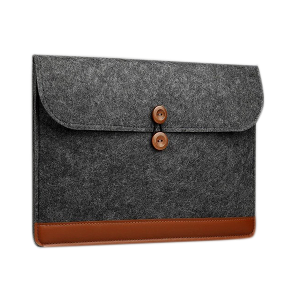 Polyester fiber fabric fashion felt bag laptop sleeve laptop bag tablet sleeve