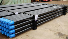 "High quality E75 steel water well drill pipe 2 7/8"" for sale,BQ HQ NQ PQ wireline drill rod for export"