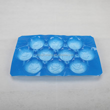 wholesale PP 10 cells disposable plastic fruit packing tray
