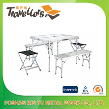 Easy Carry Folding Table Sets,Aluminum Camping Table Set,Popular Camping Furniture/MDF/Aluminum board
