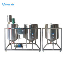 High Quality crude oil refinery plant/ Oil refining machine/edible oil refining plant