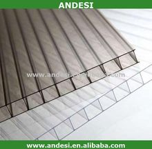 anti fog double wall plastic roof polycarbonate sheets