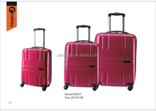 universal wheel ABS pc luggage,travel case luggage and bags, sky travel luggage bag