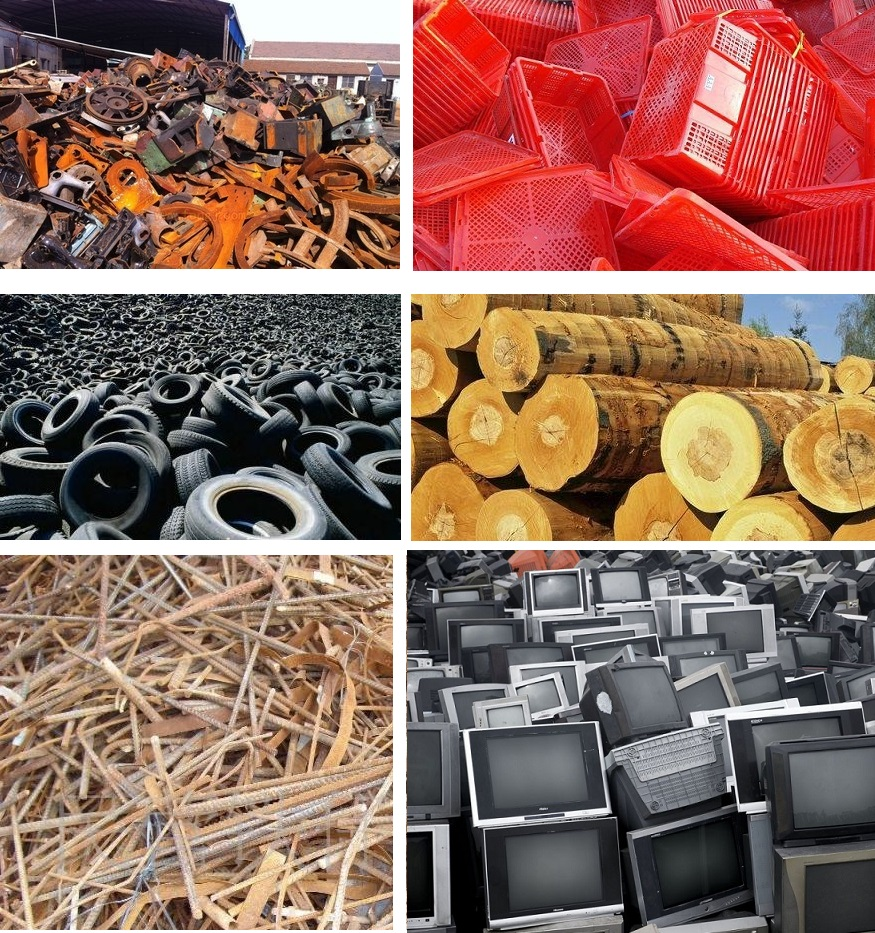 high quality Plastic Rubber Waste Steel wooden Shredder,industrial scrap metal shredder/grinder machine