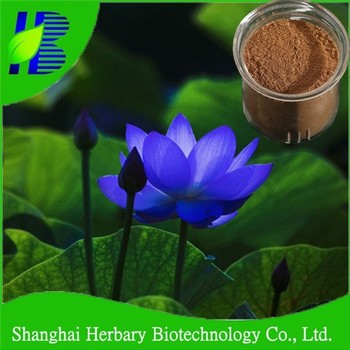 Natural slim dietary supplement Bule lotus Extract