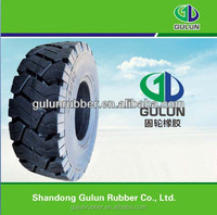 China tire factory GULUN hot sell solid tire 9.00-16 9.00-20
