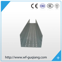 Stainless Q235 SS316 SS316L steel perforated cable tray galvanized cable tray price