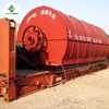 The Latest Technology Automatic Waste Tire Rubber Recycling Pyrolysis Line To Diesel