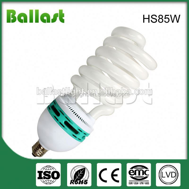 NEW fashion 85w 8u shape energy saving light bulb long life