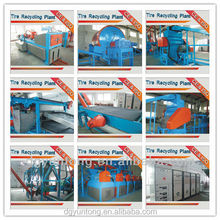 Great Selling FCC3000/5 QKXP Scrap Tire Recycling Plant