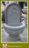 wholesale price stone wash basin fountain carving