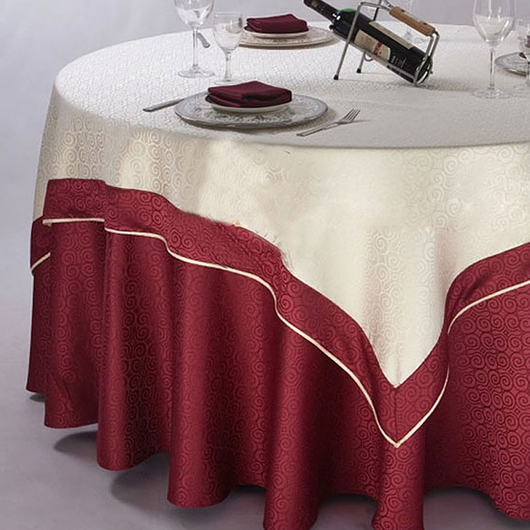 132 Round Table Cloth Decorative Velvet