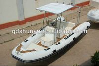 rib580 rigid fiberglass hull yacht for sale