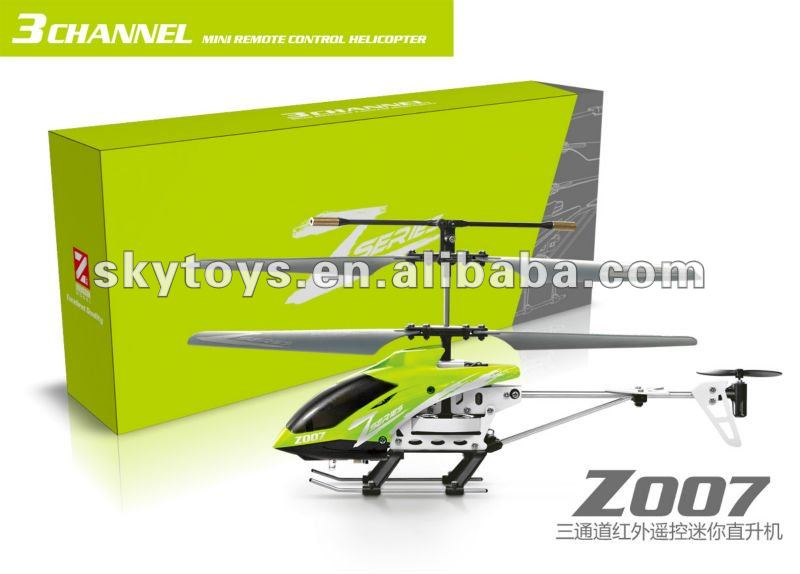 Flying toy cheaper price mini 3ch rc helicopter with GYRO & USB