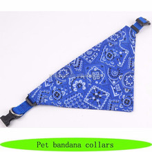 Quick buckle dog pet bandana collars, pet products dogs