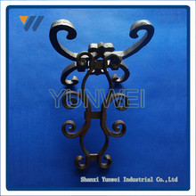 Cheap Price Srong House Design Ornamental Wrought Iron Fence Finials