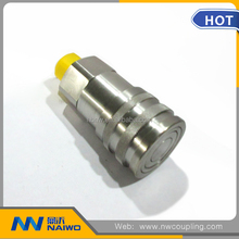 carbon steel bsp threaded straight male female full quick coupling