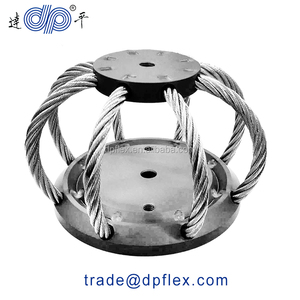 Wire Rope Isolator Stainless Steel Noise Reduction Cable Isolator