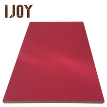 high quality rose red color 18mm uv high gloss mdf to pakistan