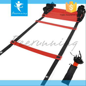 Fixed Rung Speed Soccer Fitness Agility Ladder Exercises