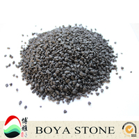 brown small gravel, machine-made stone, gravels, dyed stone,