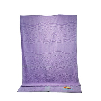 Fabric and textile 100% cotton beach towels embroidered made in china