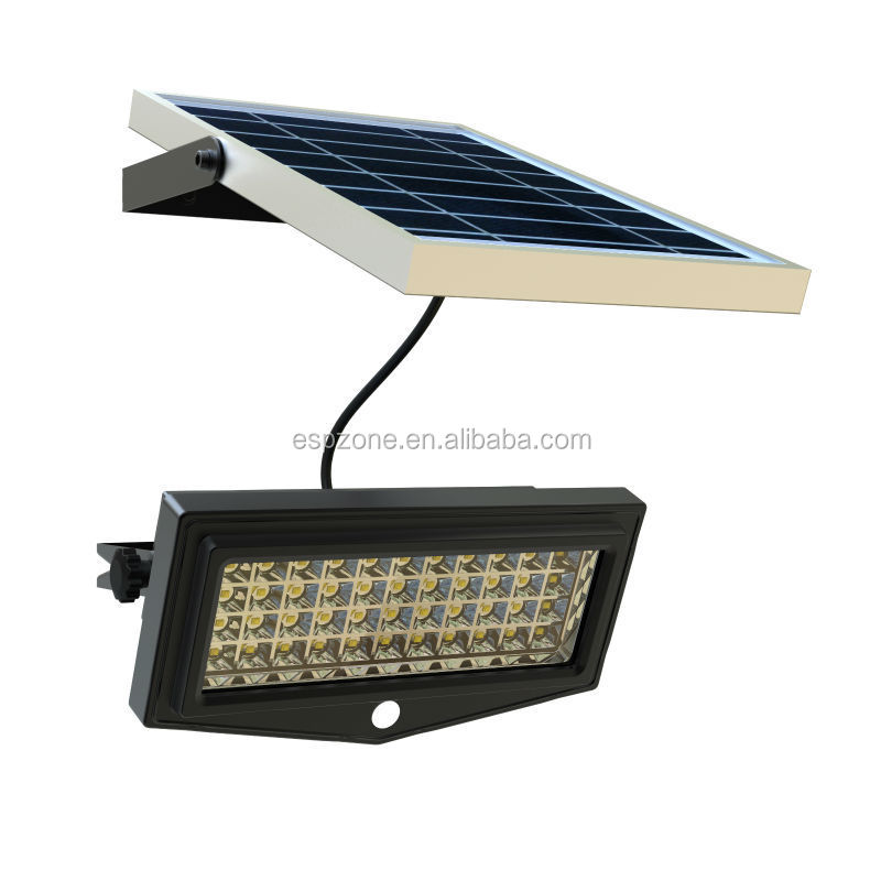 Popular 10W Ip65 Solar Powered Led Emergency Light With Remote Control