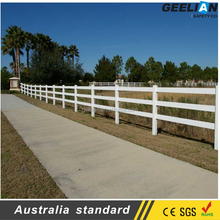 Various Colors Available Material PVC Best Vinyl Fence
