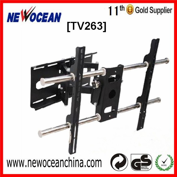 Factory Direct 90 Degrees Swivel TV Wall Mount for Home Appilication