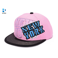 Custom plain high quality cheap snapback printed hat