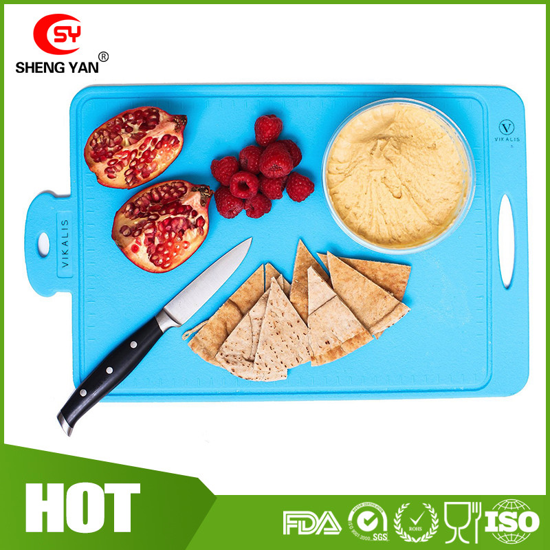 Protable Big size Durable, Nonslip, Heat Resistant silicone cutting board