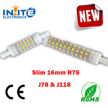 High Lumen 78mm 118mm R7S led light bulbs with ce rohs