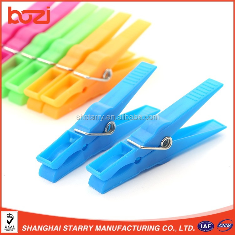 Hot sale in Spain promotion pegs clothes peg cheap price plastic cloth pegs