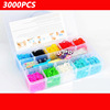 2014 New fashion DIY colorful loom band kits and refills for kids BRL002
