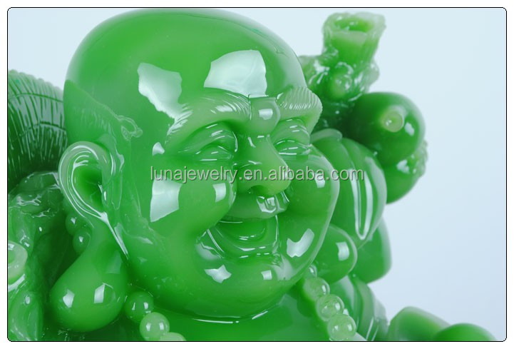 Big size jade buddha statue , large resin buddha statue hot sales