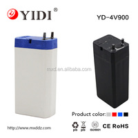 Low Price 4v 1.0ah sealed lead acid battery rechargeable for led torch and emergency light