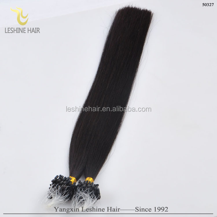 2015 Fashion Hot Selling Factory Wholesale Price Cuticle Intact remy black star micro braid weft hair