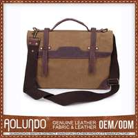 Hotselling Latest Designs Canvas & Leather French Style Bags