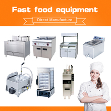 Tontile Stainless Steel Electric restaurant kitchen equipment commercial deep fryer burger
