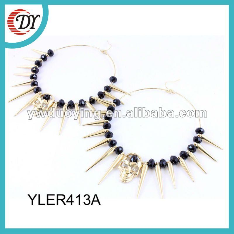 imitation jewelry gold plated earrings