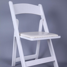 white folding wooden wedding chairs for outdoor