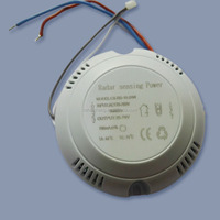 ac110v ,10-24w ,lux 100%-30%,detect time 30s -5min motion sensor switch for led lighting with led indicator