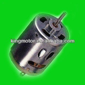 RS-360 hair dryer dc motor