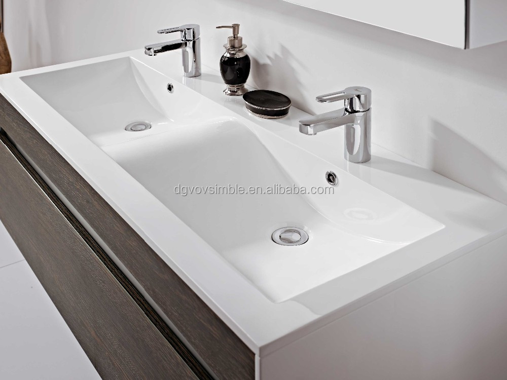 2015 new style used bathroom selling well luxurious double sink double sinks bathroom vanity Used bathroom vanity with sink