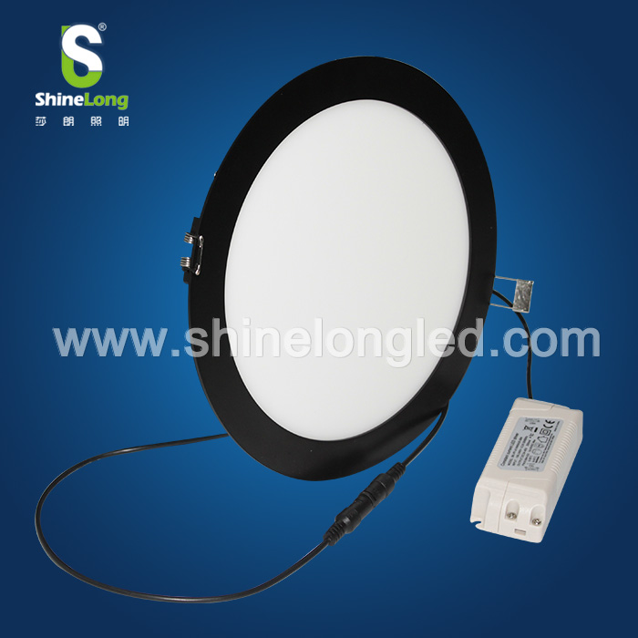 Ultra thin LED ceiling recessed slim 15w 20w 10w round led panel light