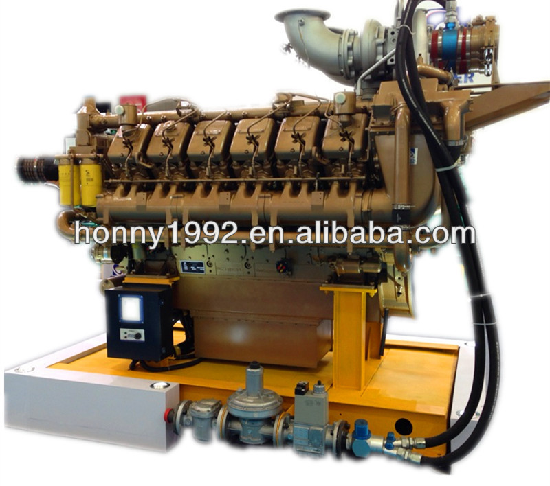 Googol Engine Natural Gas and Diesel Genset Biofuel