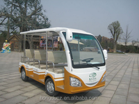 Best sale 8 passenger 48V 3KW mini electric shuttle bus for tourist resort for sale